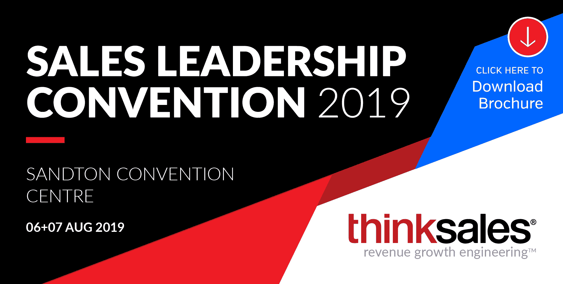 ThinkSales Convention 2019 – 10th Annual Sales Leadership